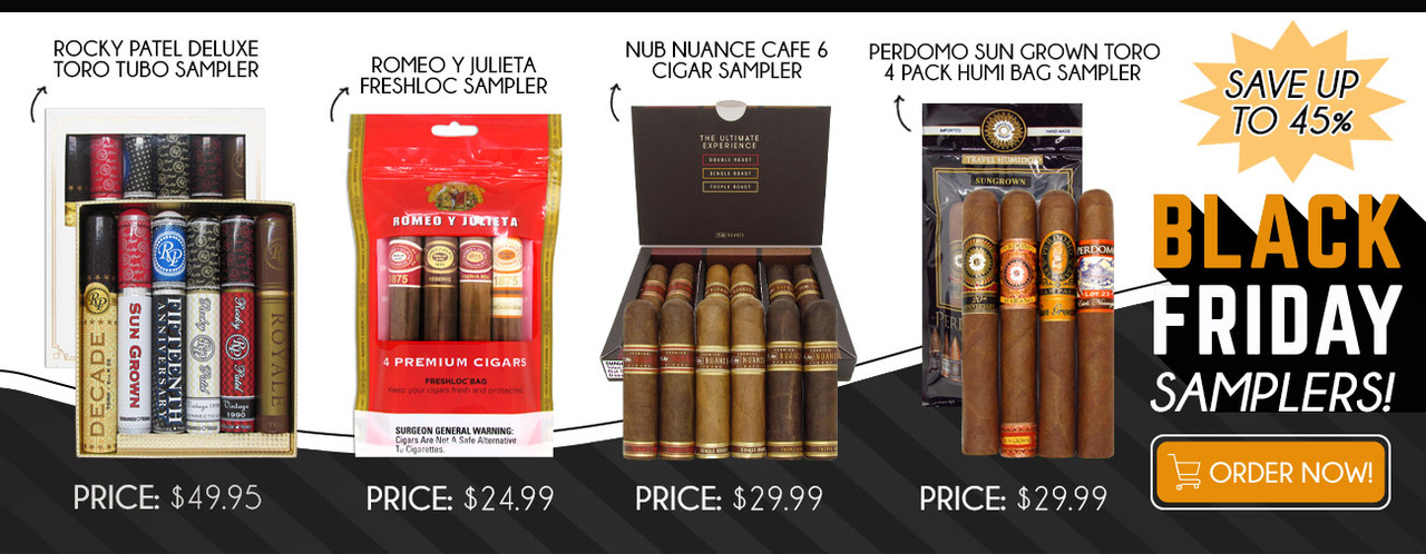 Black Friday Samplers! Save up to 45%