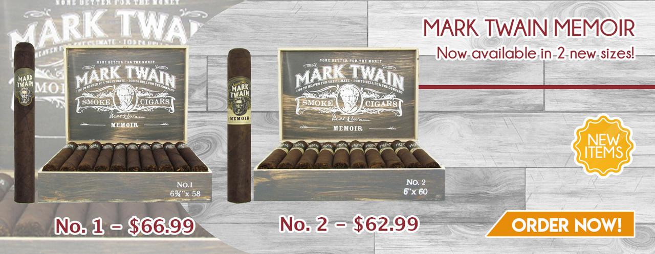 New items! Mark Twain Memoir