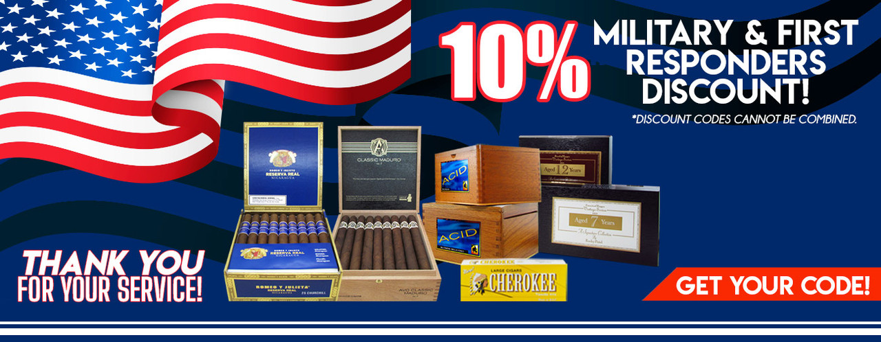 10% Military & First Responders Discount!