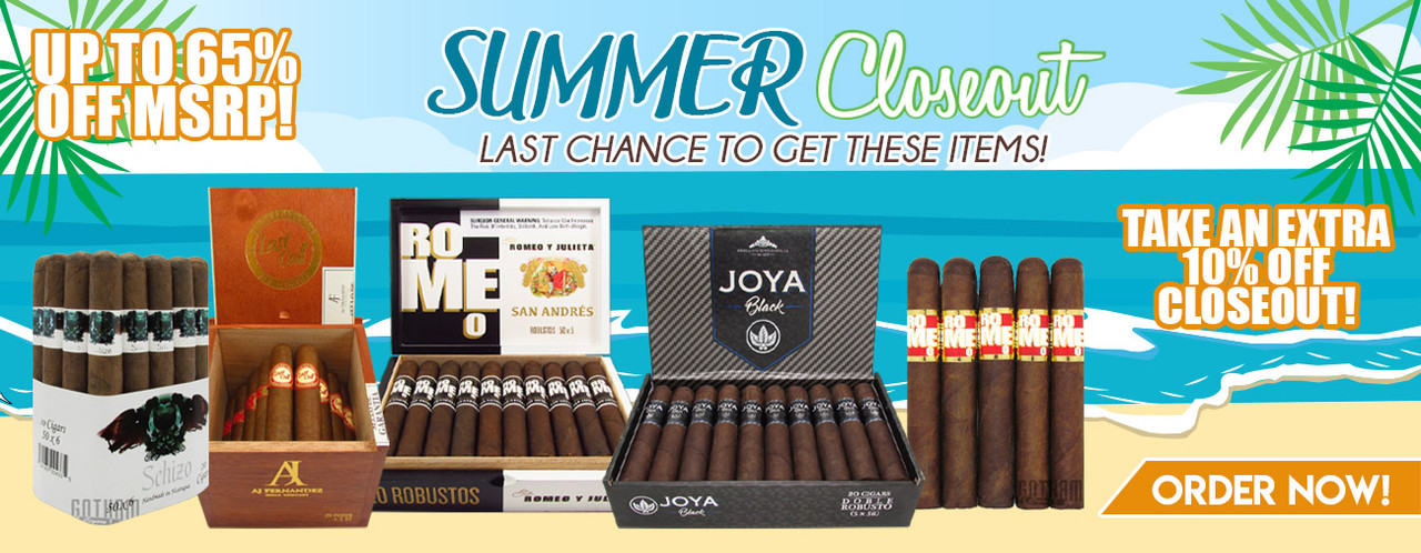 SUMMER CLOSEOUT! UP TO 65% OFF MSRP!