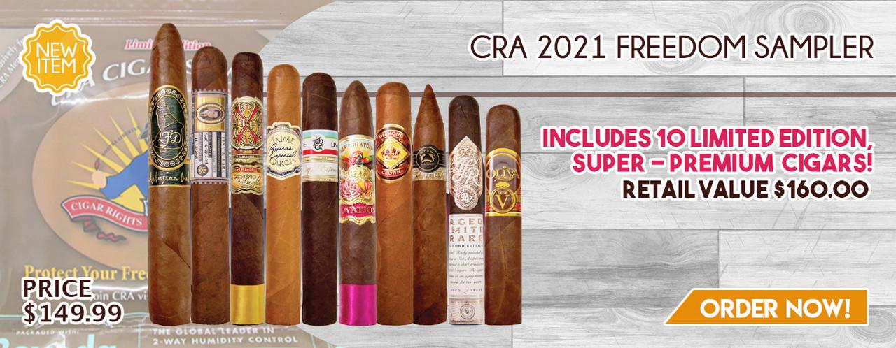 NEW ITEM! CRA 2021 Freedom Sampler!