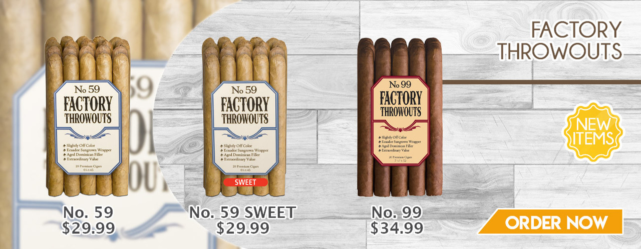 NEW ITEMS Factory Throwouts by J.C. Newman