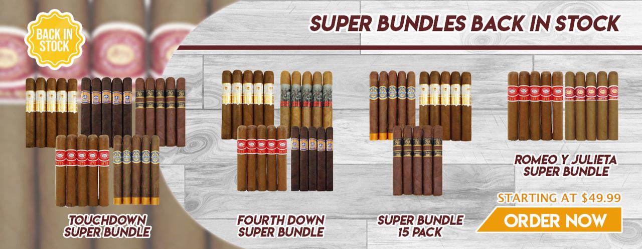 Super bundles back in stock
