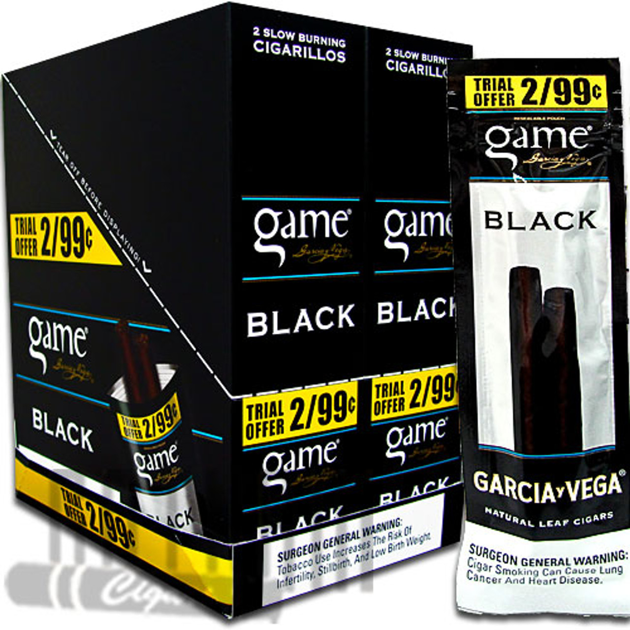 Game Cigarillos Black