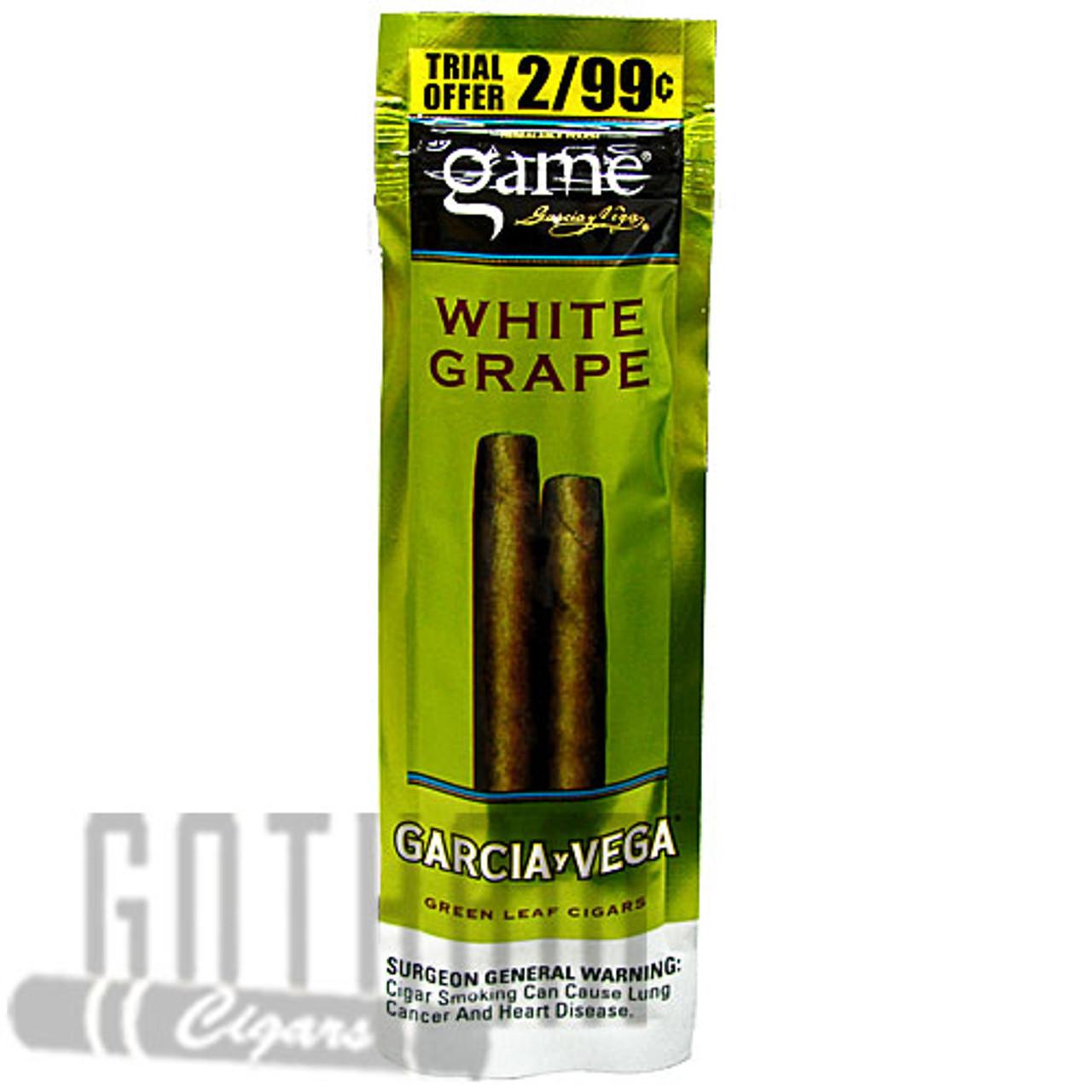 Game Cigarillos White Grape Gotham Cigars