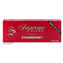 8dd6fe7b5d606 Supreme Blend Filtered Cigars Strawberry carton