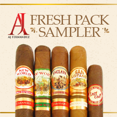 AJ Fernandez Fresh Pack Sampler, A Great Buy!