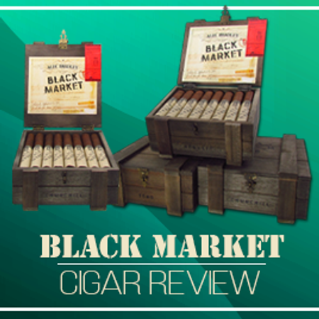 Black Market Cigar Review. One of Alec Bradley's best?