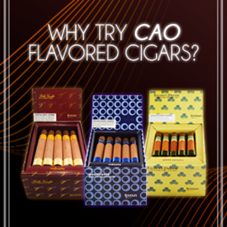 Why Try CAO Flavored Cigars? Gotham Cigars