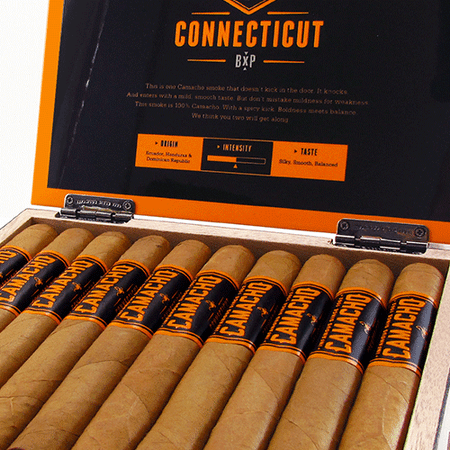 Camacho Cigars One of the best in America!