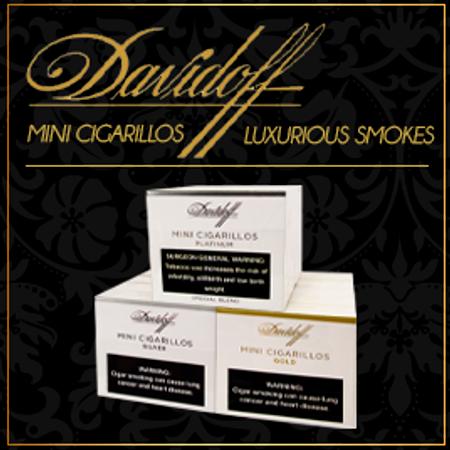 Davidoff Mini Cigarillos, Luxurious Smokes