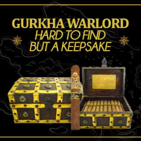 Gurkha Warlord Hard to Find But a Keepsake