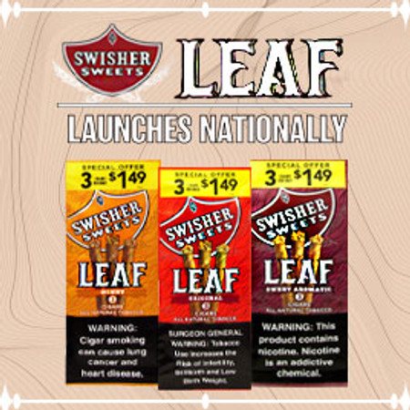 Swisher Sweets Leaf Launches Nationally!