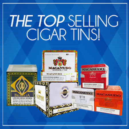 The Top Selling Cigar Tins Right Now | Gotham Cigars