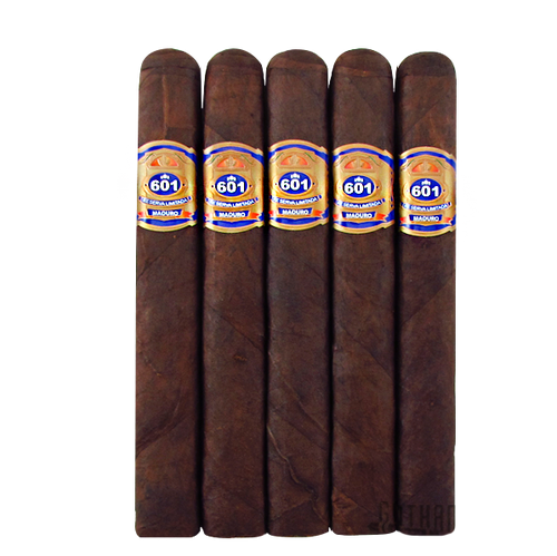 601 Blue Maduro Robusto 5 Pack