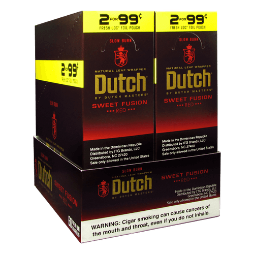 Dutch Masters Cigarillos Sweet Fusion Box