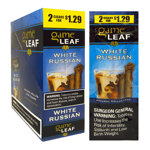 Garcia y Vega Game Leaf White Russian Box and Foil Pack