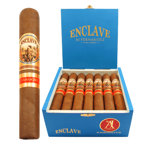 AJ Fernandez Enclave Habano Robusto Box and Stick