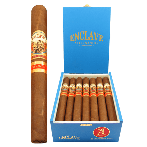 AJ Fernandez Enclave Habano Churchill Box and Stick
