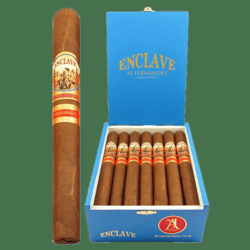 AJ Fernandez Enclave Habano Churchill Box and Stick