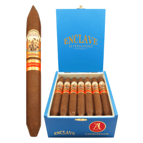 AJ Fernandez Enclave Habano Figurado Box and Stick