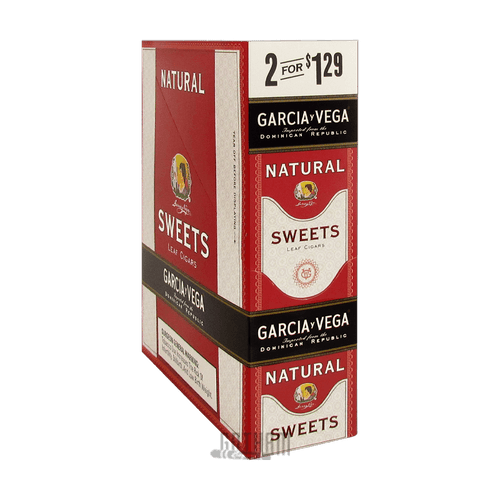Garcia Y Vega Natural Cigarillo Sweet Box