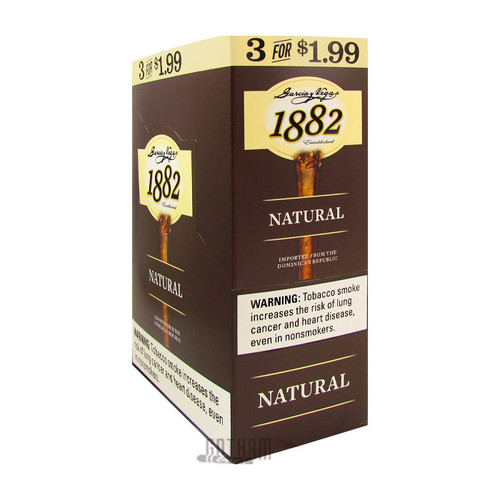 Garcia y Vega 1882 Natural Cigarillos Box