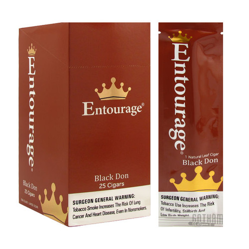 Entourage Black Don Box and Single Pack