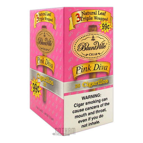 Bluntville Triple Wrapped Pink Diva