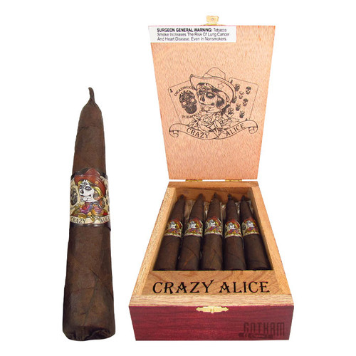 Deadwood Crazy Alice Short Pyramid Open Box and Stick