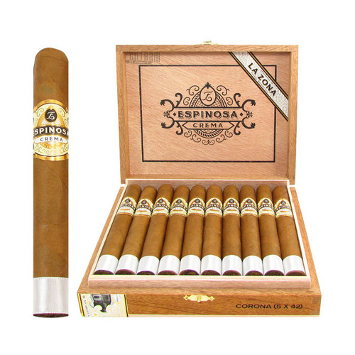 Espinosa Crema Corona Open Box and Stick