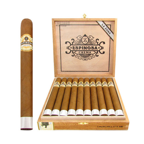 Espinosa Crema No.1 Churchill Open Box and Stick
