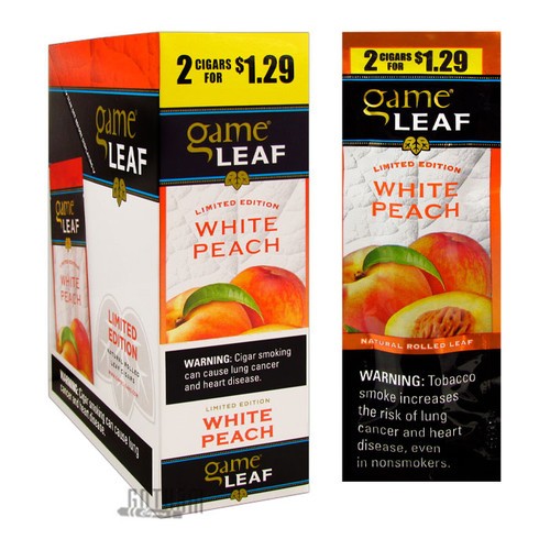 Garcia y Vega Game Leaf White Peach