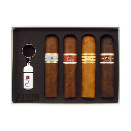 Nub 4 Cigar Sampler With Punch Cutter