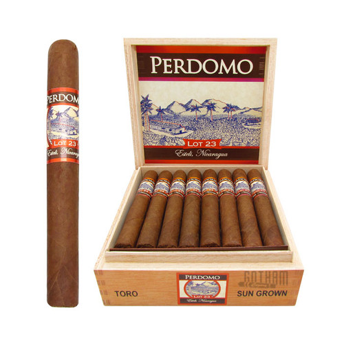 Perdomo Lot 23 Toro Sun Grown Open Box and Stick