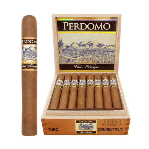 Perdomo Lot 23 Toro Connecticut Open Box and Stick