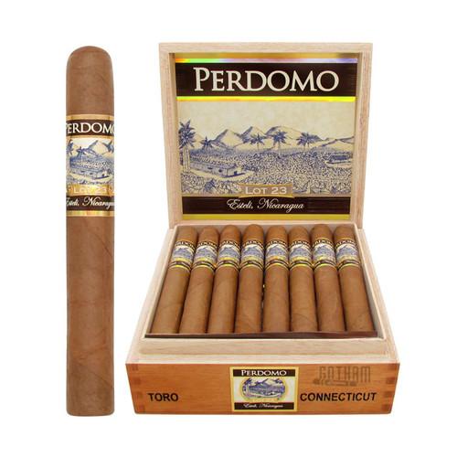 Perdomo Lot 23 Toro Connecticut Open Box and Stick