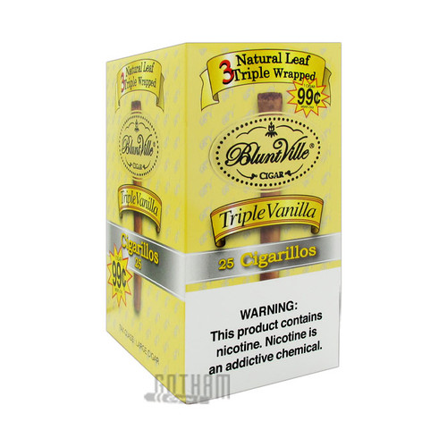 Bluntville Triple Wrapped Vanilla Box