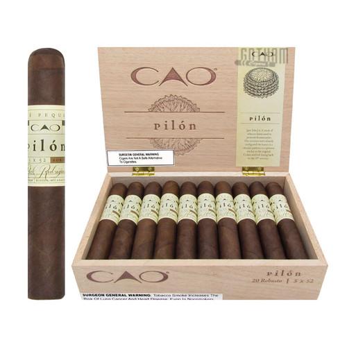 CAO Pilon Robusto Open Box and Stick