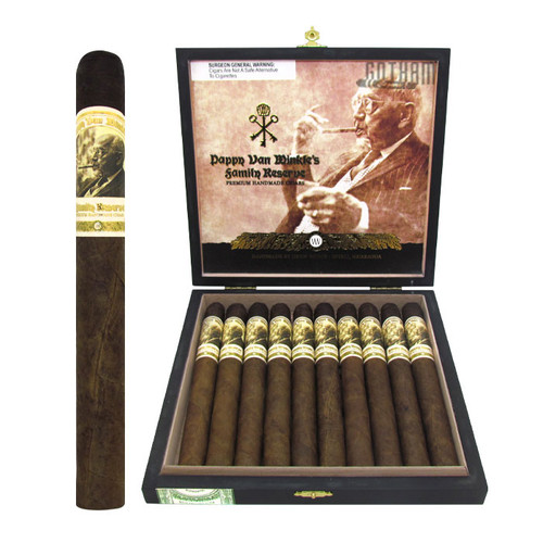 Pappy Van Winkle Family Reserve Barrel Fermented Churchill Open Box and Stick