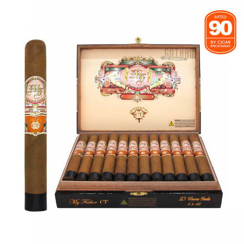 My Father Connecticut Corona Gorda open box and stick