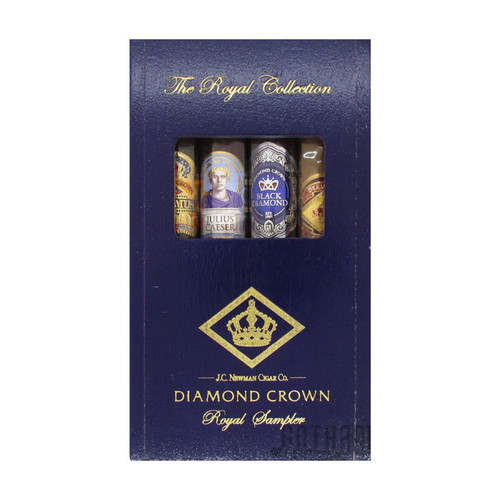 Diamond Crown Royal Collection 4 Cigar Sampler