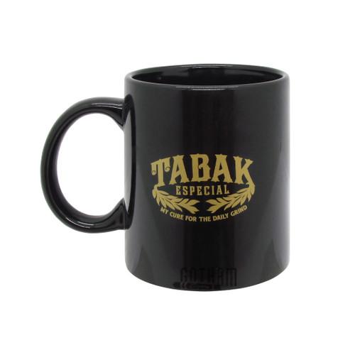 Tabak Black Ceramic Mug