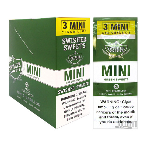 Swisher Sweets Mini Cigarillos Green Sweet
