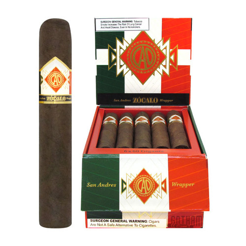 CAO Zocalo Gigante Open Box and Stick