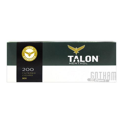 Talon Filtered Cigars Menthol Box