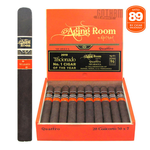Aging Room Quattro Nicaraguan Concerto Open box and stick