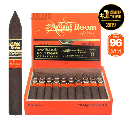 Aging Room Quattro Nicaraguan Maestro open box and stick