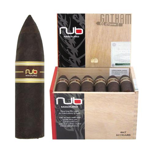 Nub Maduro 464T open box and stick