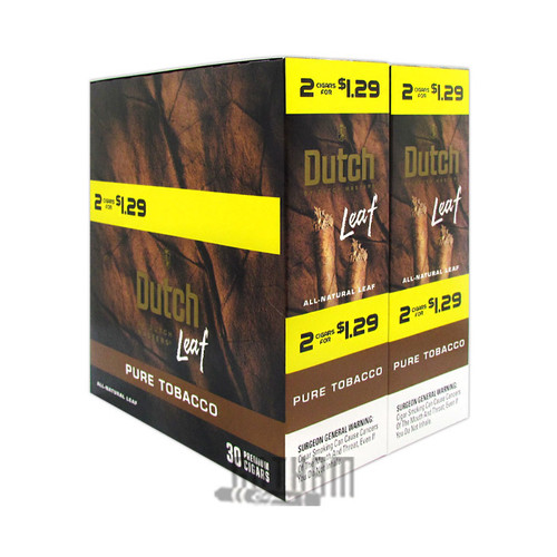 Dutch Leaf Pure Tobacco Box